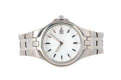Zilveren horloge Stock Afbeeldingen