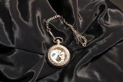 Zilveren horloge Stock Fotografie