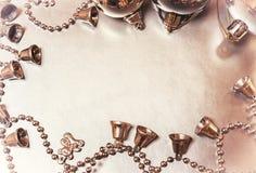 Zilveren Kerstmis Royalty-vrije Stock Foto's