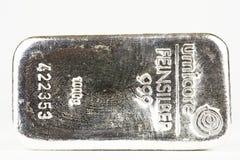 Zilveren 1kg Royalty-vrije Stock Afbeeldingen