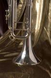Zilveren Klok stock afbeelding
