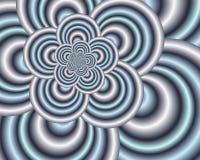 Zilveren Lijnen Vector Illustratie