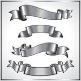 Zilveren lintinzameling Stock Afbeeldingen