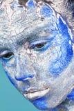 Zilveren make-up royalty-vrije stock afbeeldingen