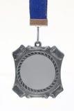 Zilveren medaille Stock Foto