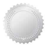Zilveren medaille Royalty-vrije Stock Foto