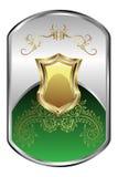Zilveren Medaillon Royalty-vrije Stock Fotografie