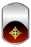 Zilveren Medaillon Royalty-vrije Stock Foto