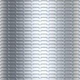Zilveren metaalachtergrond royalty-vrije illustratie