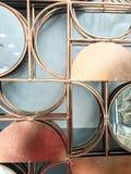 Zilveren metaalontwerp royalty-vrije stock afbeeldingen