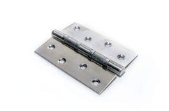 Zilveren metaalscharnier Royalty-vrije Stock Afbeeldingen