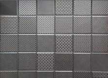Zilveren metaalstaalachtergrond vector illustratie