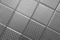 Zilveren metaalstaalachtergrond stock foto