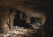 Zilveren Mijn in Bloederige Tarnowskie, Unesco-erfenisplaats Royalty-vrije Stock Fotografie