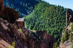 Zilveren Mijn Creede Colorado Bachelor Loop royalty-vrije stock foto