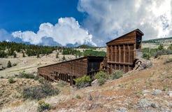 Zilveren Mijn Creede Colorado Bachelor Loop royalty-vrije stock afbeelding