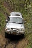 Zilveren Mitsubishi Pajero DHD Stock Afbeeldingen