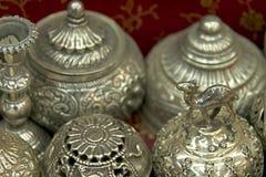 Zilveren Muttrah Stock Fotografie