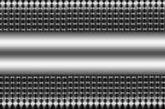 Zilveren Netwerk met Zilveren Tussenvoegsel royalty-vrije illustratie