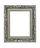 Zilveren overladen omlijsting Stock Foto's