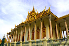 Zilveren Pagode, Phnom Penh, Kambodja Royalty-vrije Stock Foto's