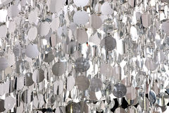 Zilveren patroon Royalty-vrije Stock Foto's