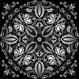 Zilveren patroon Royalty-vrije Stock Afbeelding