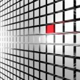 Zilveren presentatieachtergrond Stock Fotografie