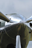 Zilveren propeller Royalty-vrije Stock Afbeelding