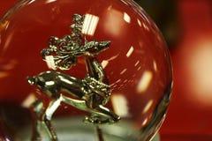 Zilveren rendier Royalty-vrije Stock Foto's
