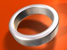 Zilveren Ring Stock Illustratie