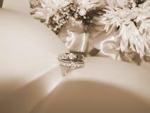 Zilveren ringen Royalty-vrije Stock Afbeeldingen