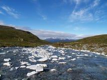 Zilveren rivier Royalty-vrije Stock Afbeeldingen
