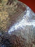 Zilveren Schijf Stock Fotografie