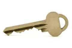 Zilveren sleutel Stock Fotografie