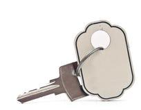 Zilveren sleutel Royalty-vrije Stock Afbeeldingen