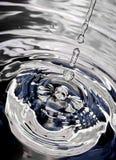 Zilveren spin Royalty-vrije Stock Afbeelding
