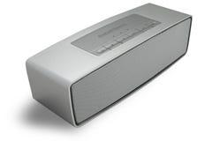 Zilveren Sprekers Stereoradio Stock Fotografie