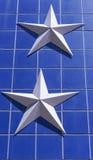 zilveren sterren Royalty-vrije Stock Afbeelding
