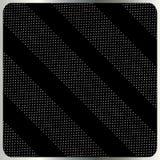Zilveren stippen op zwarte vector als achtergrond Stock Foto