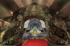 Zilveren tempel Royalty-vrije Stock Afbeeldingen