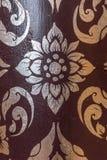Zilveren Thais patroon royalty-vrije stock foto