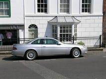 Zilveren Toyota Soarer Royalty-vrije Stock Foto