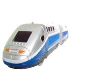 Zilveren trein Royalty-vrije Stock Foto