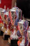 Zilveren trofee Royalty-vrije Stock Fotografie