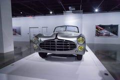Zilveren Type 235 van Delahaye van 1951 convertibel Cabriolet Stock Foto's