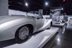 Zilveren Type 235 van Delahaye van 1951 convertibel Cabriolet Royalty-vrije Stock Fotografie