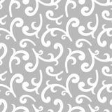 Zilveren uitstekend behang Royalty-vrije Stock Afbeelding
