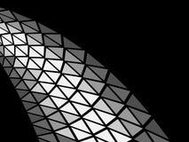 Zilveren vectorontwerp Stock Afbeelding