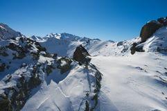 Zim Alps góry Zdjęcie Stock